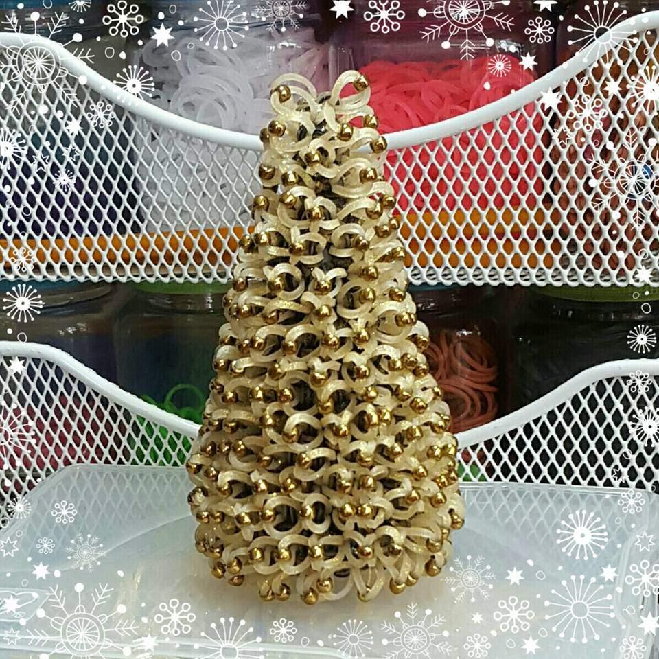 Decorated Christmas Tree Loomigurumi