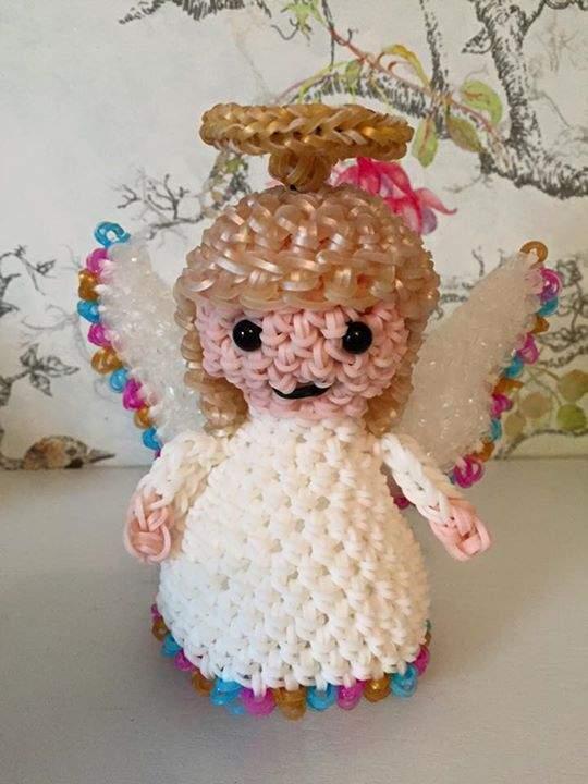 Loomigurumi angel loom community an educational do it yourself loomigurumi angel december 18 2015 solutioingenieria Image collections