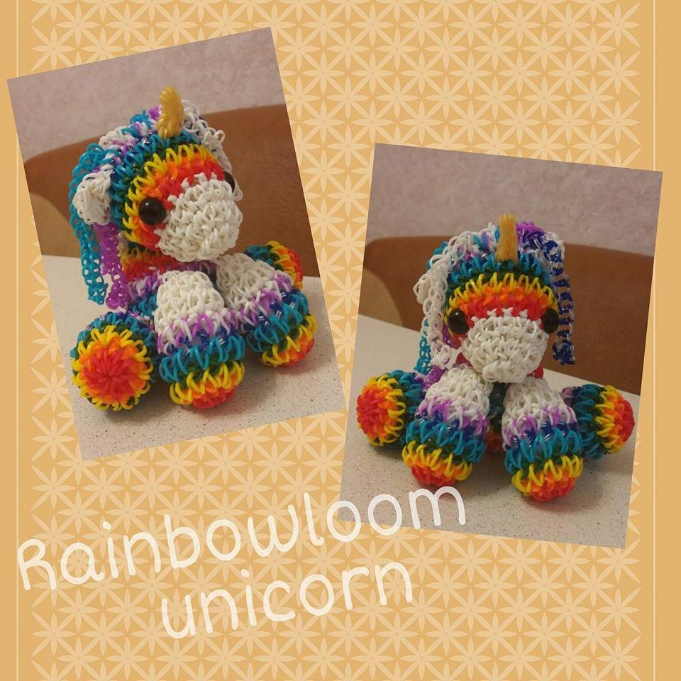 Rainbow Loom Amigurumi Unicorn : Loomigurumi Unicorn Loom Community, an educational do-it ...