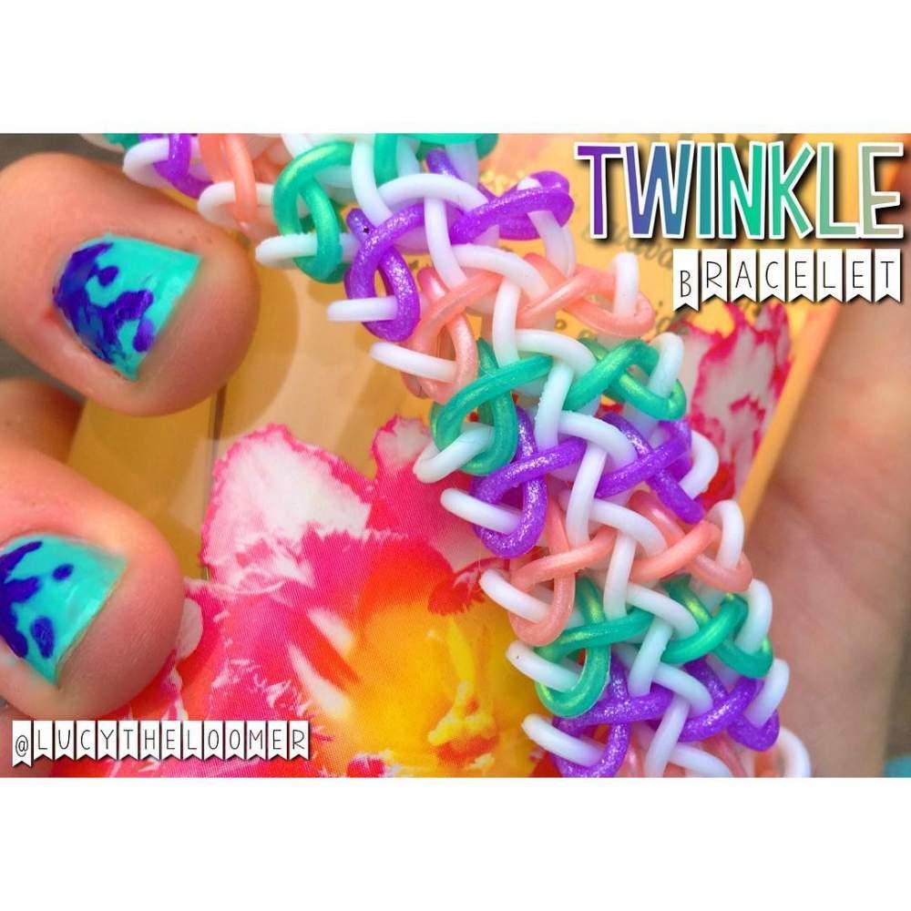 Twinkle bracelet loom community an educational do it yourself twinkle bracelet july 16 2016 solutioingenieria Gallery