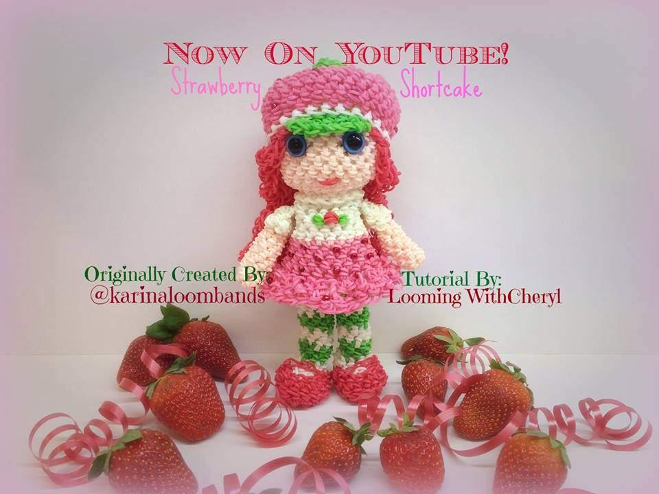 Loomigurumi Strawberry Shortcake Loom Community An Educational Do