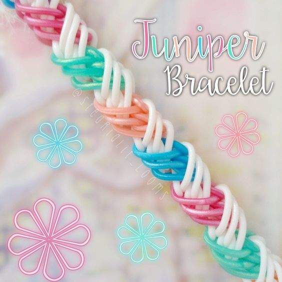 Juniper Bracelet Loom Community An Educational Do It Yourself Rainbow Loom And Crafting Community