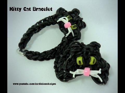 Плетение кошек из резиночек видео